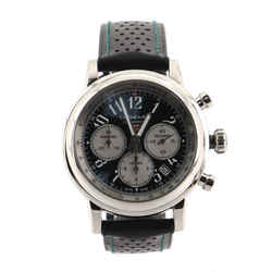 Mille Miglia Racing Colours Chronograph Automatic Watch Stainless Steel and Perforated Leather 42