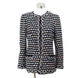 Chanel Black and Pink Jacket sz 10