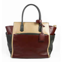 Reed Krakoff Colorblock Leather Large Atlantique Tote