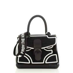 Champion Brillant Top Handle Bag PVC and Rubber MM