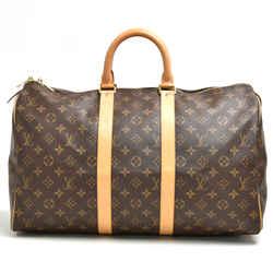 Louis Vuitton Vintage Keepall 45 Monogram Canvas Duffle Travel Bag Lu322