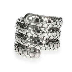John Hardy Quad Coil Dot Ring in  Sterling Silver