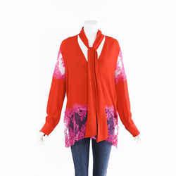 MSGM Silk Lace Blouse SZ 40