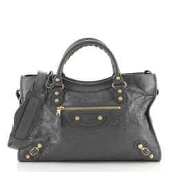 City Giant Studs Bag Leather Medium