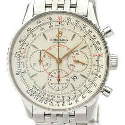 Polished BREITLING Navitimer Montbrillant Steel Automatic Watch A41370 BF532596
