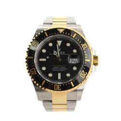 Oyster Perpetual Sea-dweller Automatic Watch Ceramic And Stainless Steel And Yellow Gold 40
