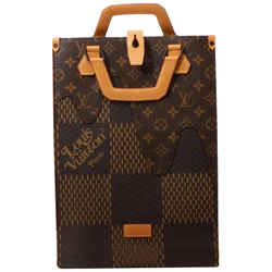 Louis Vuitton Nigo Giant Damier Mino Tote with Strap Nano Sac Bag  861880