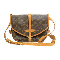 Authentic Louis Vuitton Saumur Mm 30 Leather Crossbody Bag Monogram Signature Logo Purse