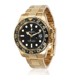Rolex GMT Master II 116718 Men's Watch in 18kt Yellow Gold