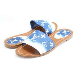 Louis Vuitton Escale Lock It Flat Mule Sandal
