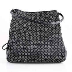 Coach Needle Madison Phoebe Shoulder Bag Black Size 10.5 Authenticity Guaranteed
