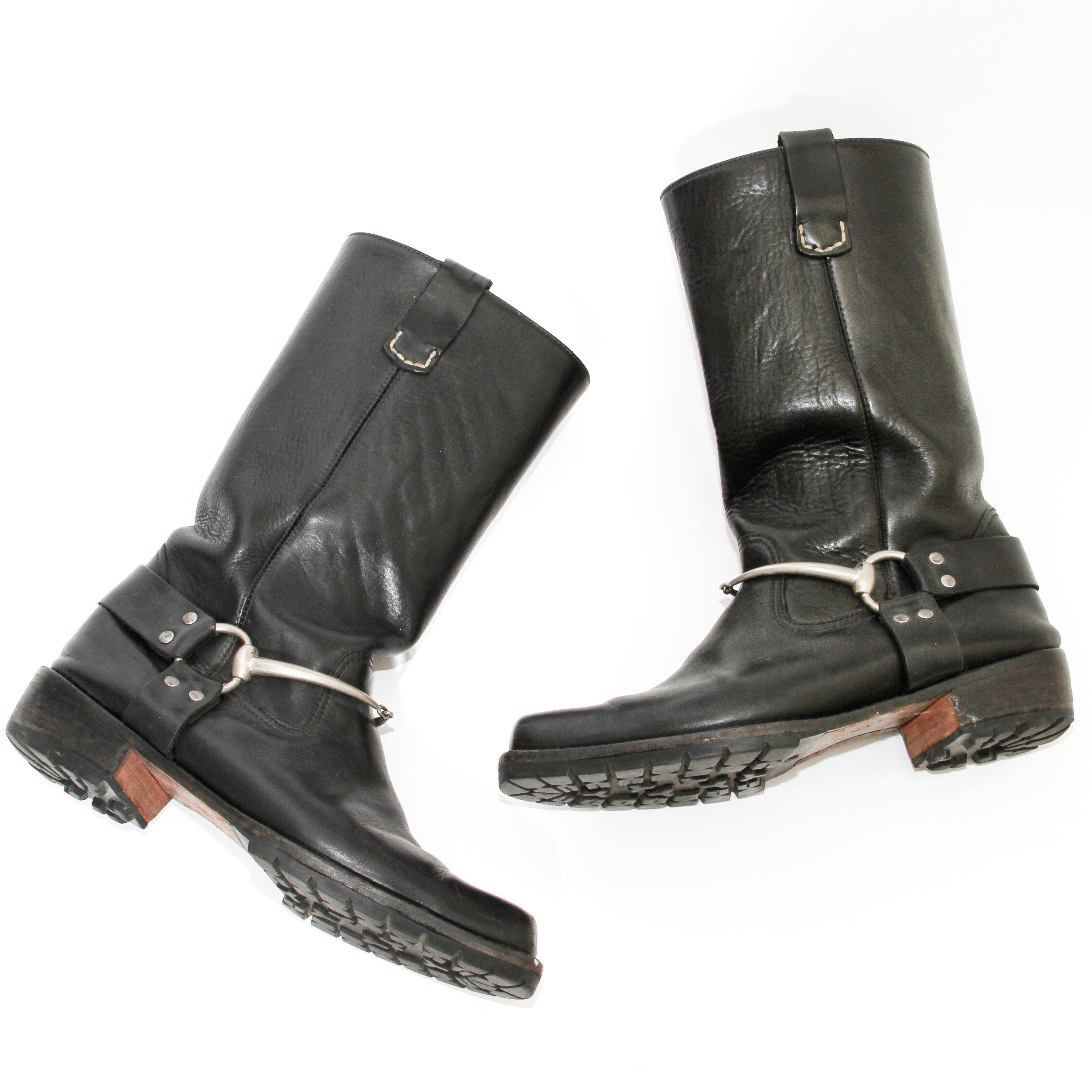 Gucci by Tom Ford Biker Boots | LePrix