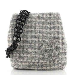 Camellia Messenger Bag Tweed Large