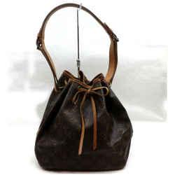 Louis Vuitton Monogram Petit Noe Drawstring Bucket Hobo Bag 862514