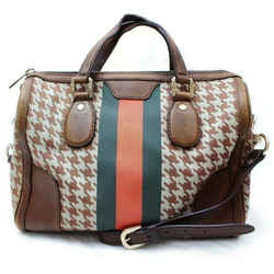 Gucci Herringbone Joy Boston With Strap 860646