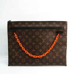 Louis Vuitton Monogram Pochette A4 M44484 Men's Clutch Bag Monogram,O FVGZ000241