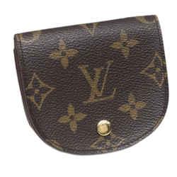 Vintage Authentic Louis Vuitton Monogram Porte Monnaie Gousset Coin Pouch