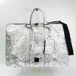 MCM Duffle Bag Silver MMV4SFA055V001 BF502267