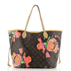 Neverfull Tote Limited Edition Monogram Roses MM