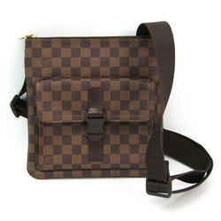 Louis Vuitton Damier Pochette Melville N51127 Unisex Shoulder Bag Ebene BF511994