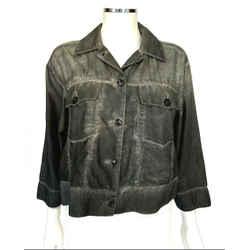 Maison Martin Margiela Mm6 Charcoal Gray Jacket Sz 4 (40)