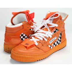 Off White Virgil Abloh Sneakers - Orange