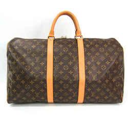 Louis Vuitton Monogram Keepall 50 M41426 Women's Boston Bag Monogram Bf502966