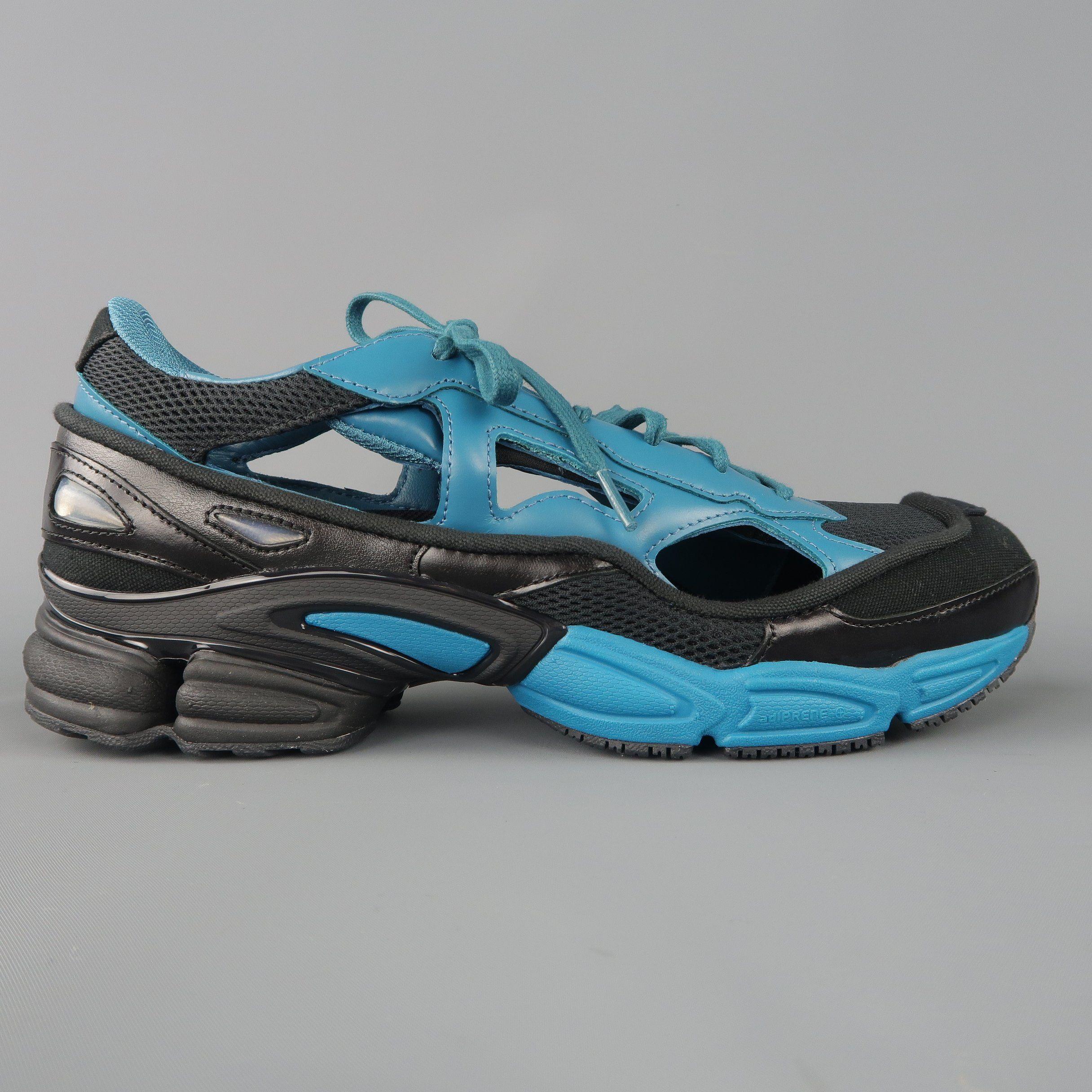 Adidas Raf Simons Size 10 Black \u0026 Blue