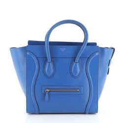 Luggage Bag Smooth Leather Mini