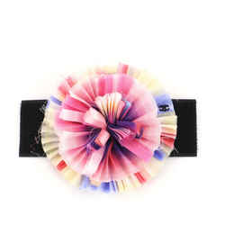 Camellia Brooch Chiffon with Velcro Detail
