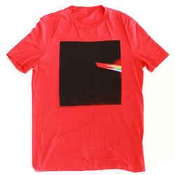 Maison Margiela  Prism T-shirt FW17 Red Black Square Print - 50 - Medium - M