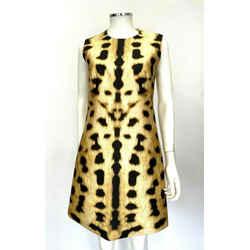 Kaufmanfranco Animal Print Dress Sz 4