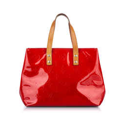 Vintage Authentic Louis Vuitton Red Vernis Leather Leather Vernis Houston FRANCE