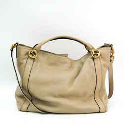 Gucci Miss GG 323675 Women's Leather Handbag,Shoulder Bag Ivory BF521057