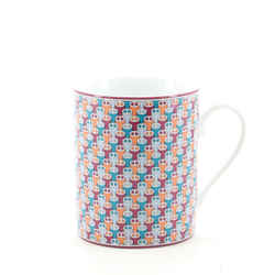 Tie Set Mug Printed Porcelain