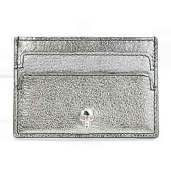 Alexander McQueen Skull Card Case - Silver/Gold