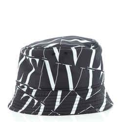VLTN Times Bucket Hat Printed Nylon XXL