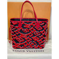 Louis Vuitton Lvxuf Urs Fischer Neverfull Mm Limited Edition 12.2l x 5.5w x 11h