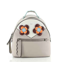 By The Way Flowerland Backpack Embellished Leather Mini