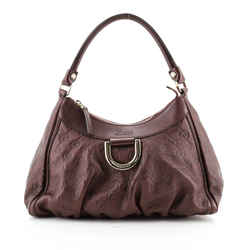 D Ring Hobo Guccissima Leather Small