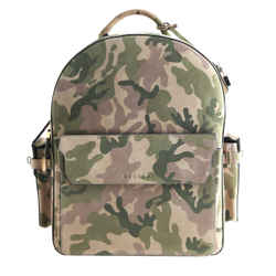 Buscemi Phd Clean Suede Camouflage Backpack