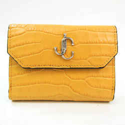 Jimmy Choo Women's  Embossed Leather Wallet (bi-fold) BF530903