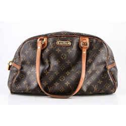Louis Vuitton Montorgueil Canvas Backpack