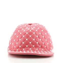 Free Rockstud Hat Leather Large