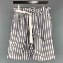 Joseph Size S Gray & White Cotton Shorts