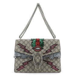 Dionysus Bag Embellished GG Coated Canvas Medium