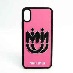 Miu Miu Rubber Phone Bumper For Phone X Black,Pink 5ZH058 BF533496