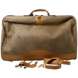 Gucci Large Monogram GG Rolling Suitcase Luggage 860747