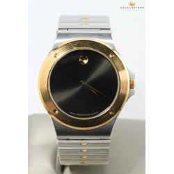 Movado 36mm Sports Two Tone Museum Watch  81.65.877.02