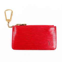 Louis Vuitton Key Pouch Red Epi Leather
